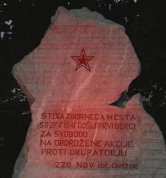 Spominska slovestnost ob 77. obletnici odhoda prvih borcev v partizane Radomlje